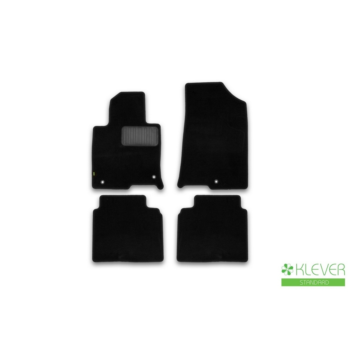 Floor mats Klever standard Kia Optima 2016  ETS. 4 PCs (textile) Kia Optima) Floor Mats     - title=