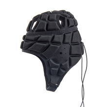 EVA Men Soccer Goalkeeper Sports Shockproof Protective Helmet Cap Head Guard Roller Hat Protector