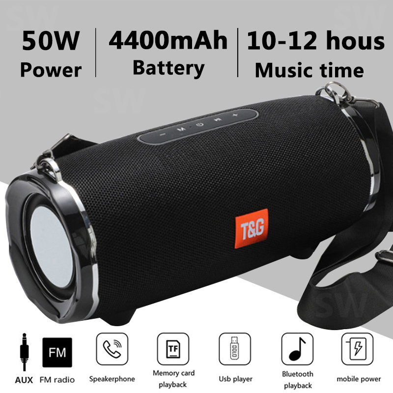 TG187-High-Power-50W-Bluetooth-Speaker-Waterproof-Portable-Column-For-PC-Computer-Speakers-Subwoofer-Boom-Box