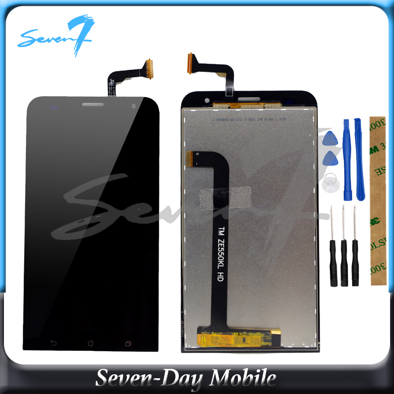<font><b>LCD</b></font> Display For ASUS Zenfone 2 Laser Z00LD <font><b>ZE550KL</b></font> <font><b>LCD</b></font> Digitizer Touch Panel Assembly image