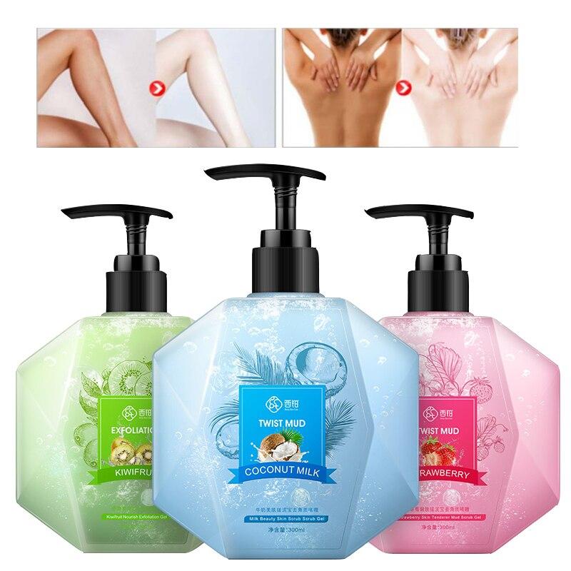 CCPT Fruit Body Scrub Cream Exfoliating Gel Whitening Moisturizing Rubbing Mud To Dead Skin Brighten Nourish Body Skin Care