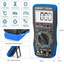 Цифровой мультиметр bt 760c Вольт/ом тестер сопротивление емкость