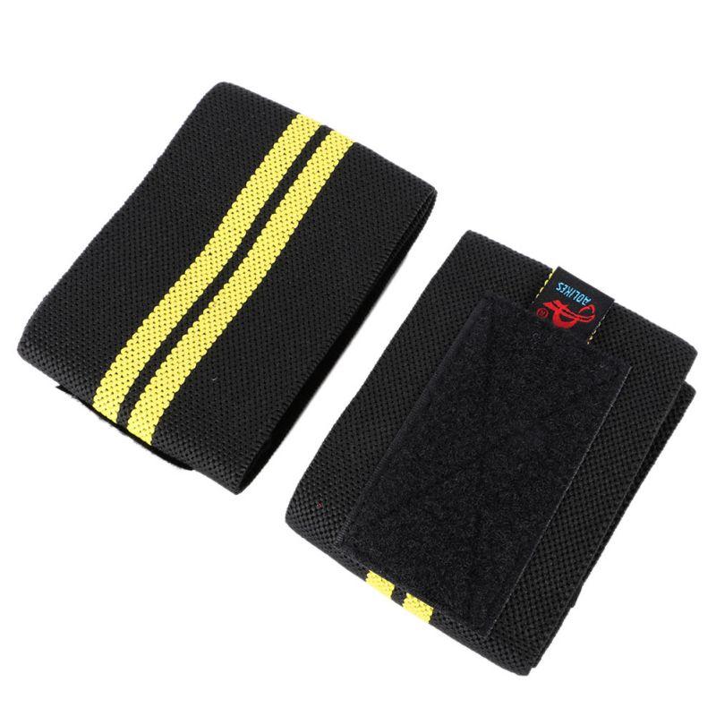 1 paire haltérophilie poignet soutien gymnase Fitness Sport entraînement professionnel main bracelet sangles enveloppes gardes - 2