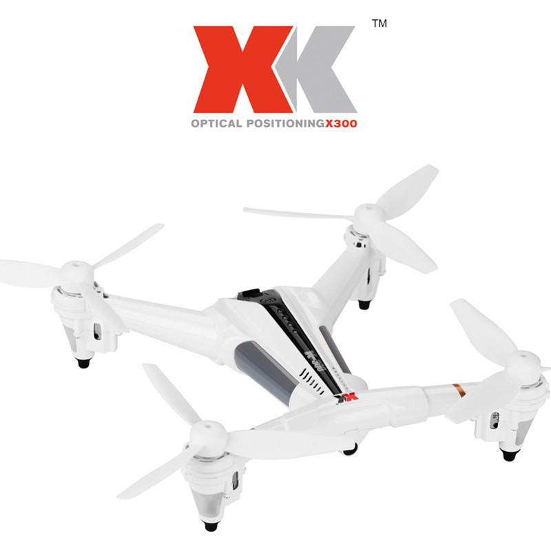Weili XK X300 Optical Flow Positioning Unmanned Aerial Vehicle Real-Time Transmission Remote-control Four-axis Aircraft Through