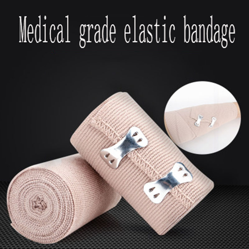 10 Rolls Of Medical High-elastic Bandage Emergency Rescue Hemostatic Bandage Wound Dressing Bandage Physical Exercise Protection