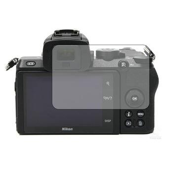 2 5D ekran ze szkła hartowanego osłona zabezpieczająca osłona na nikona Z 50 Z50 aparat cyfrowy wyświetlacz LCD ochronne na ekran folia ochronna tanie i dobre opinie HOBBIT Kamera Tempered Glass LCD Display Screen Protector Cover Guard For Nikon Z50