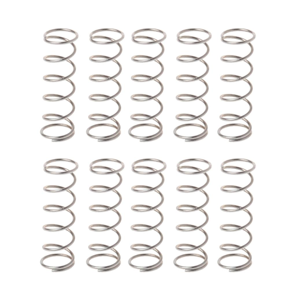 10Pcs Mouse Wheel Roller Springs for Logitech G9X M705 MX1100 M950 G502 G500 G500S G700 G700S Mouse Accessories