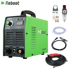 Reboot 1 Air Plasma Cutter CUT 40 Plasma Welders Cutting Machine With torch Accessories Aluminum Cutter cut all steel EU/US plug(China)