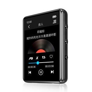 Image 4 - مشغل موسيقى X60 إصدار جديد بتقنية البلوتوث 5.0 MP3 بشاشة لمس مدمجة مكبر صوت 32 جيجا 64 جيجا HiFi محمول مع راديو إف إم