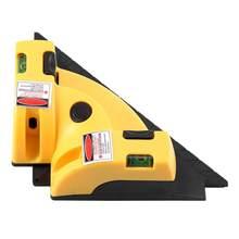 65nm oi-qualidade nível laser ângulo direito horizontal laser 90 graus vertical linha de projeção nível alinhamento layout ferramenta IP-54