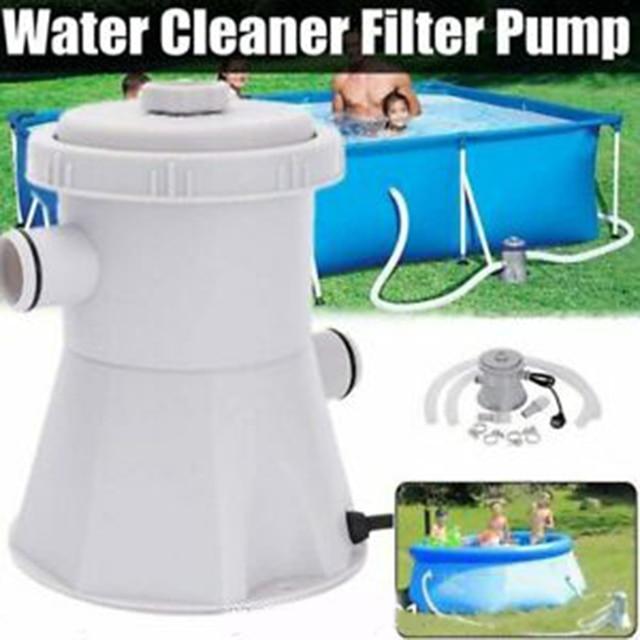 110/220/240V pompes à filtre de piscine électrique pour piscines hors sol outil de nettoyage de circulation deau P7Ding