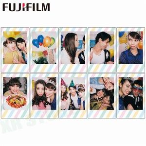 Image 5 - Fujifilm Instax Mini Film 11 8 9 Film 10 Sheet Mini Instant Photo Paper for Camera Instax Mini7s 50s 90 Blue Black Airmail
