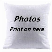 2017 Design Picture here Print, Pet ,wedding and personal life photos custom cushion cover pillowcase capa de almofadas 45x45cm