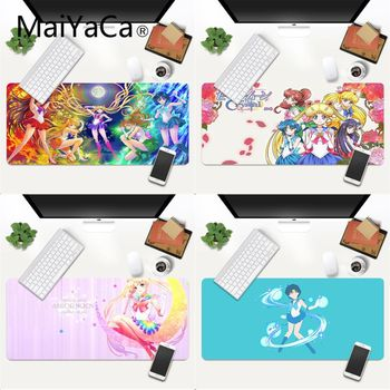 MaiYaCa Sailor Moon Comfort Mouse Mat Gaming Mousepad XXL Mouse Pad Laptop Desk Mat pc gamer completo for lol/world of warcraft