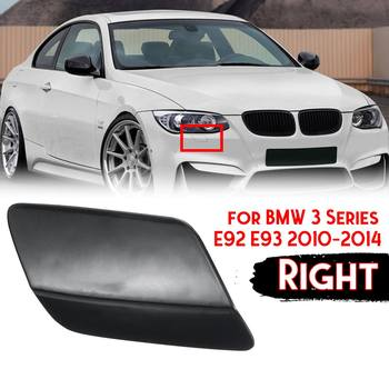 One Piece Right Front Bumper Headlight Lamp Washer Jet Nozzle Cover Cap For Bmw 3 E92 E93 2010-2014 Coupe Convertible image