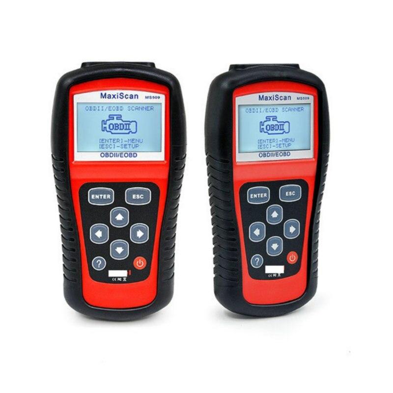2019A-utel MaxiScan MS509 OBDII OBD2Automotive Code Reader Scanner Auto Diagnose Werkzeug Professionelle MaxiScan MS509 Scanner
