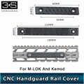 Pour Rail M Lok et Rail Keymod RS CNC garde-corps 120mm/80mm deux versions