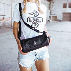 Image 1 - Orabird Small Women Bucket Bag Soft Genuine Leather Ladies Casual Sling Shoulder Crossbody Handbag Fashion Phone City Gray Bags