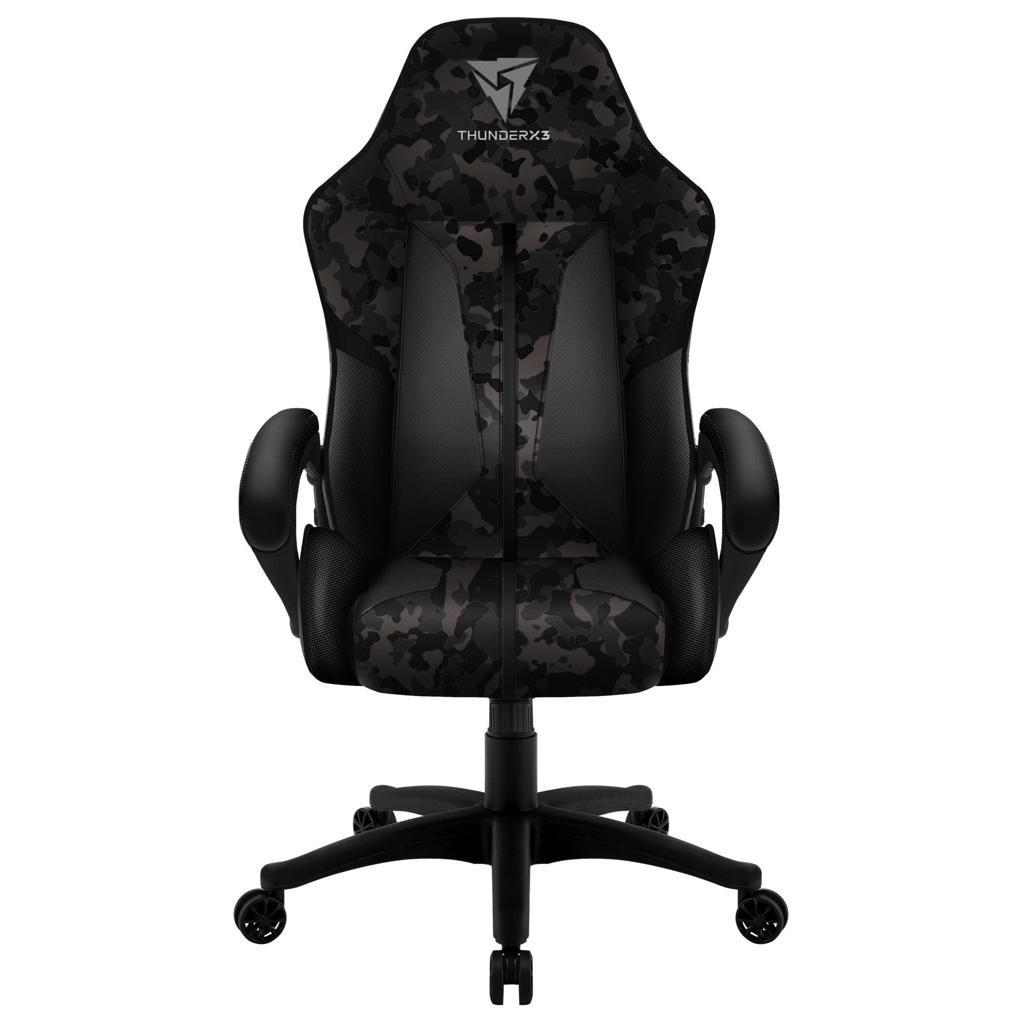 ThunderX3 BC1 CAMO, Gaming Chair Technology AIR, Gray Color Black Hawk