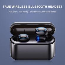 Newest High Quality A2 TWS Mini Wireless Charging Bluetooth Earphone Mobile Phone Touch Headphones With Dual Microphone