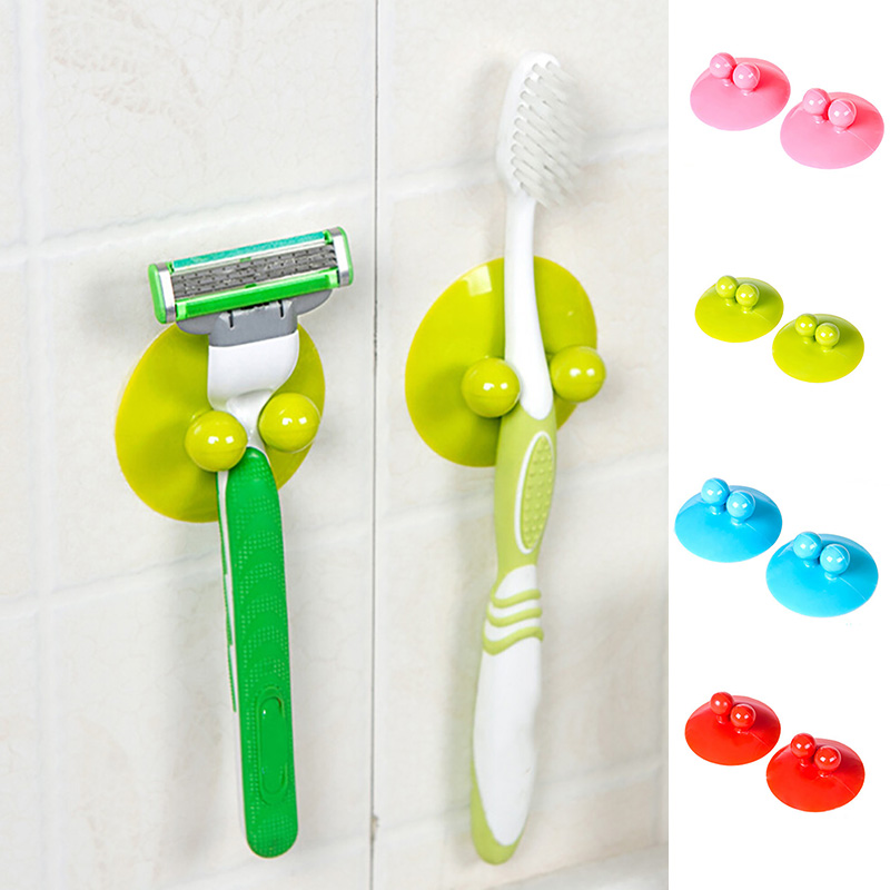 Bathroom Vacuum Wall Strong Suction multifunction Holder Cup Hooks Hanger Sucker Christmas decoration For Home