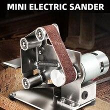 Grinding-Machine Belt-Sander Polishing Electric Mini Desktop-Cutter Edges-Power-Tool