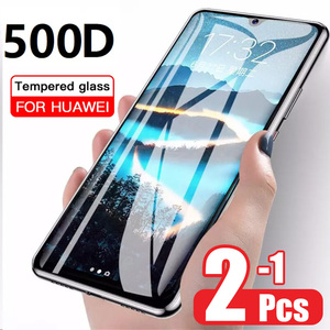500D Tempered Glass For Huawei P30 20 10 Lite Film For P20 P30 Pro Screen Protector Protective Glass On Mate 10 20 30 Lite Glass(China)
