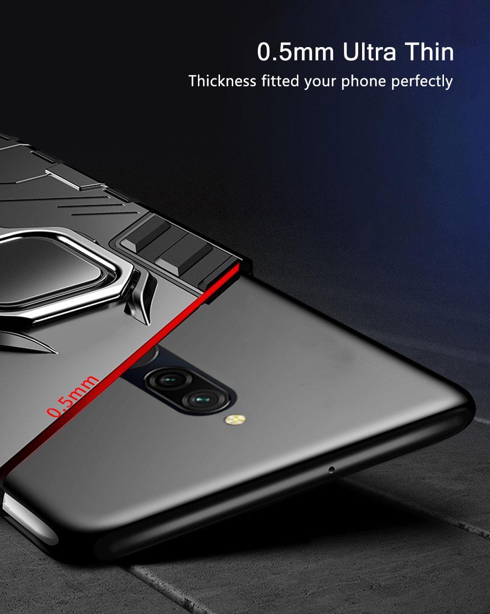 Hb6dae20b202d40ae8f19041091e85d5cZ Armor Case for Redmi 8 8A Case Magnetic Car Phone Holder TPU+PC Bumper Cover on for Xiaomi Redmi 8 8A 8 A Global Version Case