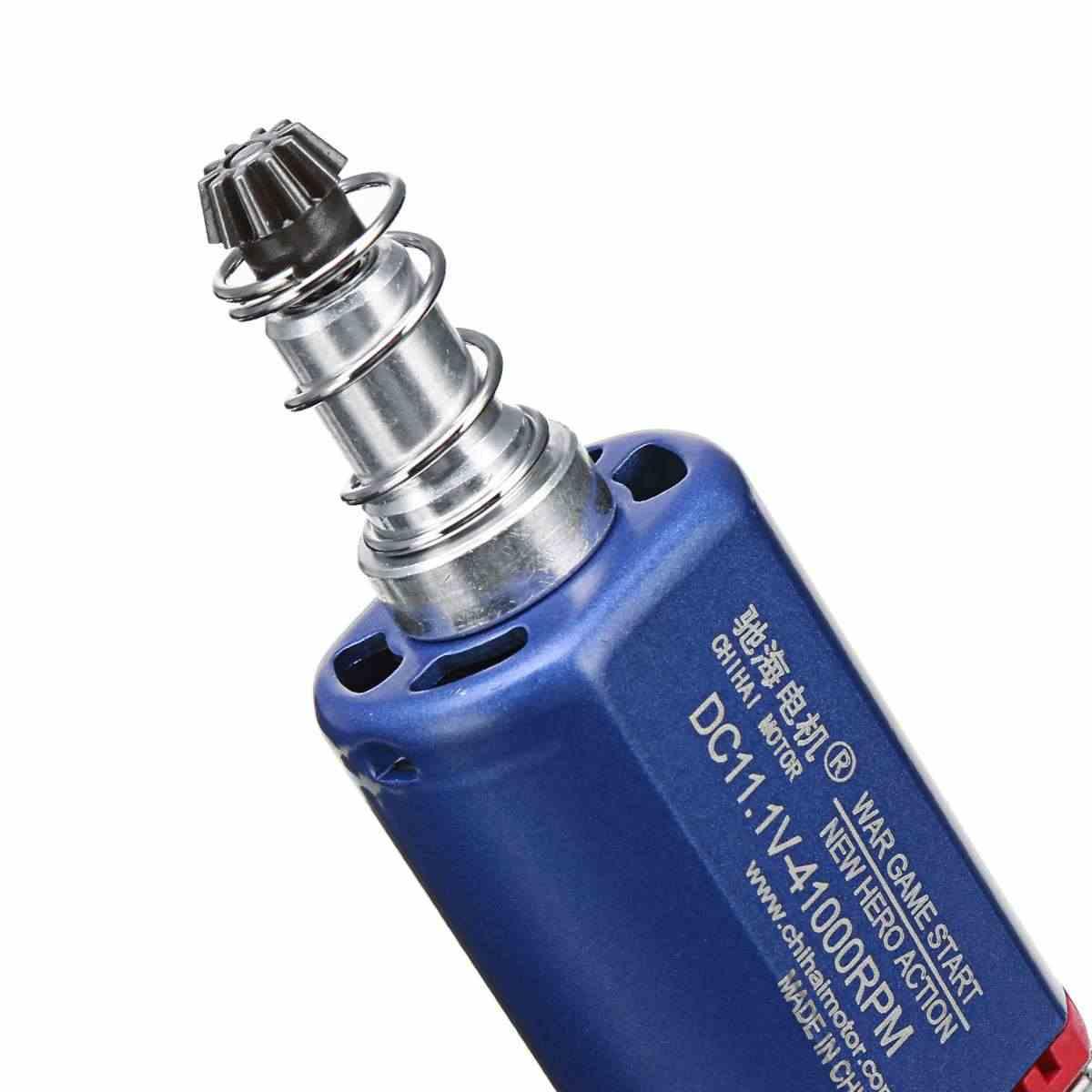 Alta velocidade de torque do motor dc para nwell m4 aeg m110 m12 gel bola blasters brinquedo armas substituição acessórios