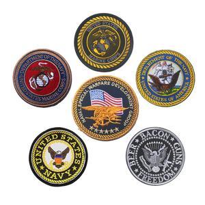 Морской корпус США, Морская Лодка SEMPER FI USMC, нашивка, отдел морского флота США, морской флот NSWDG DEVGRU, военный нашивка, значок