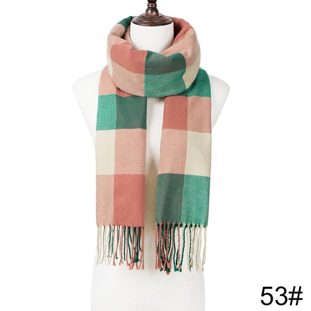 Fashion Winter Tassel Scarf Shawl 1