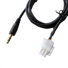 Audio Auxiliary Cable For Honda GL1800 Goldwing 3.5mm Connector Motorcycle AUX(China)