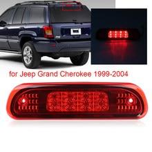 Luz da cauda do diodo emissor de luz terceira lâmpada traseira do freio 3rd montagem traseira led luz de freio addtional para jeep grand cherokee 1999-2004