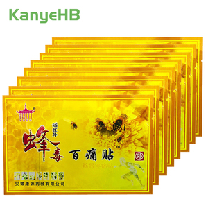10pcs Bee Venom Balm Joint Pain Patch Neck Back Body Relaxation Pain Killer Body Pain Relief Orthopedic Plasters A008