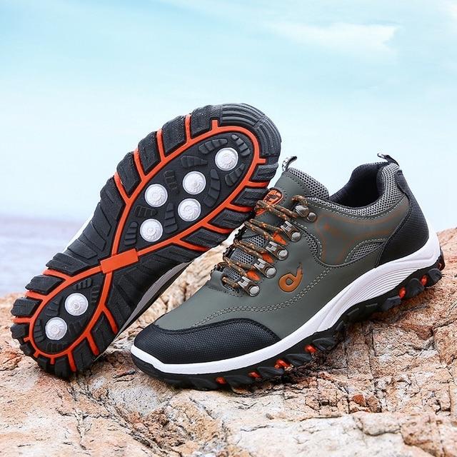 Men Hiking Shoes Trekking Sneakers Man Fishing Camping Shoes Hunting Boots 3