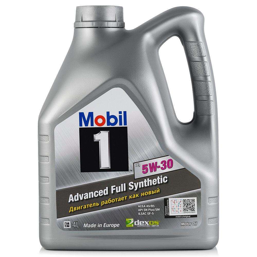 Моторное масло MOBIL 1 X1 5W30 4L (154806)