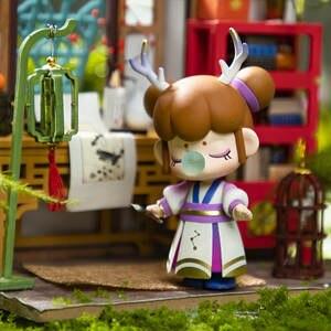 Robotime Nanci Action Figure Blind Box Toys for Children Girl Birthdays gift(China)