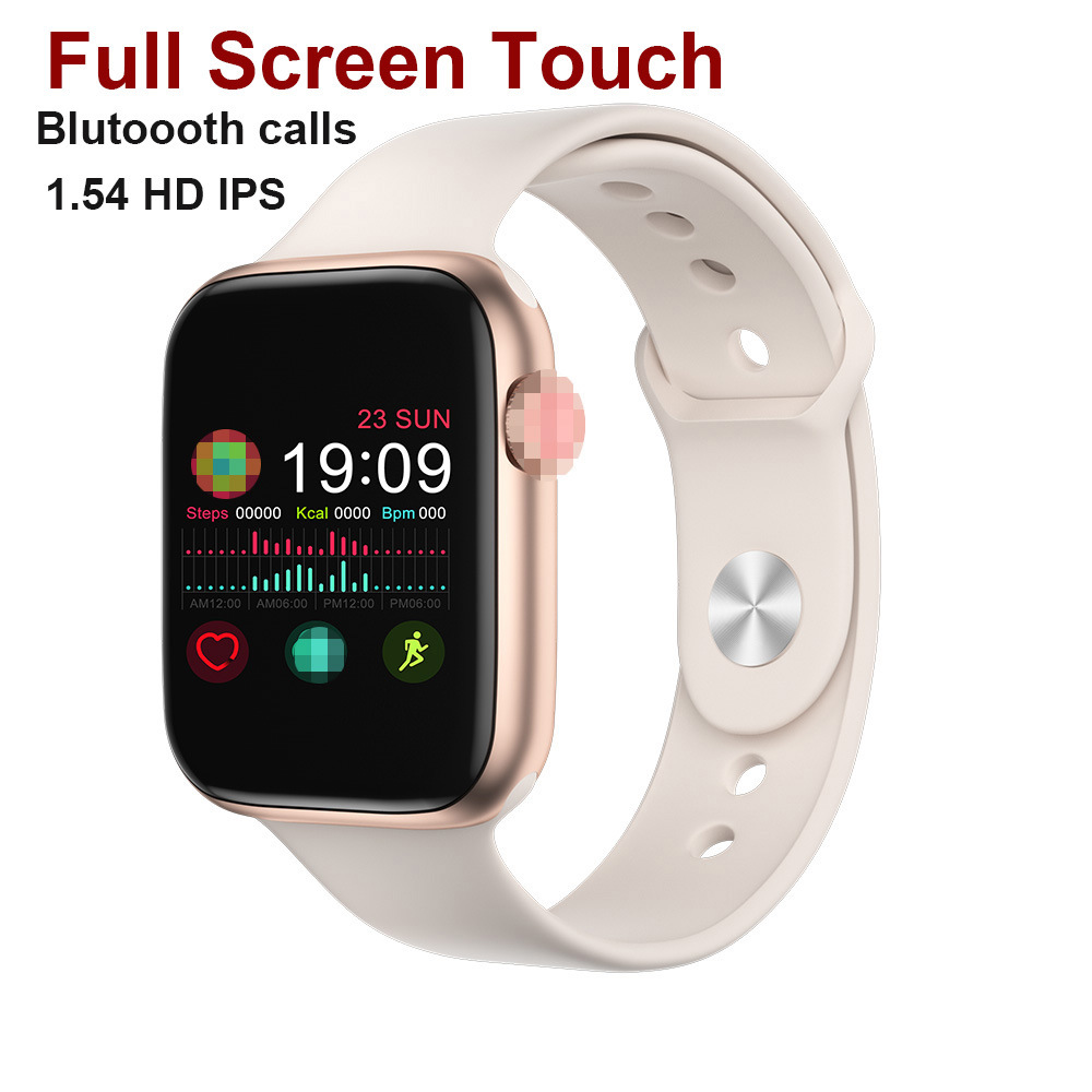 iwo 11 pro Series 5 1.54 IPS Smart Watch Bluetooth Call Heart Rate Smartwatch Men Reloj Inteligente for iOS Android for IWO 8 9 image