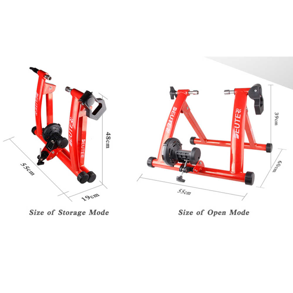 Klevsoure Bicycle Trainer Home Training Indoor Exercise 26-28MTB Road 700C Bicycle Trainer Exercise Station Cycling Trainer Roller
