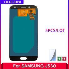 5 sztuk TFT incell dla Samsung Galaxy J5 2017 J5 Pro J530 J530F SM-J530F wyświetlacz LCD ekran dotykowy Digitizer zgromadzenie dostosuj tanie tanio uozzini CN (pochodzenie) Pojemnościowy ekran 1280x720 3 J5 Pro 2017 J530F SM-J530F LCD i ekran dotykowy Digitizer Black Blue Gold