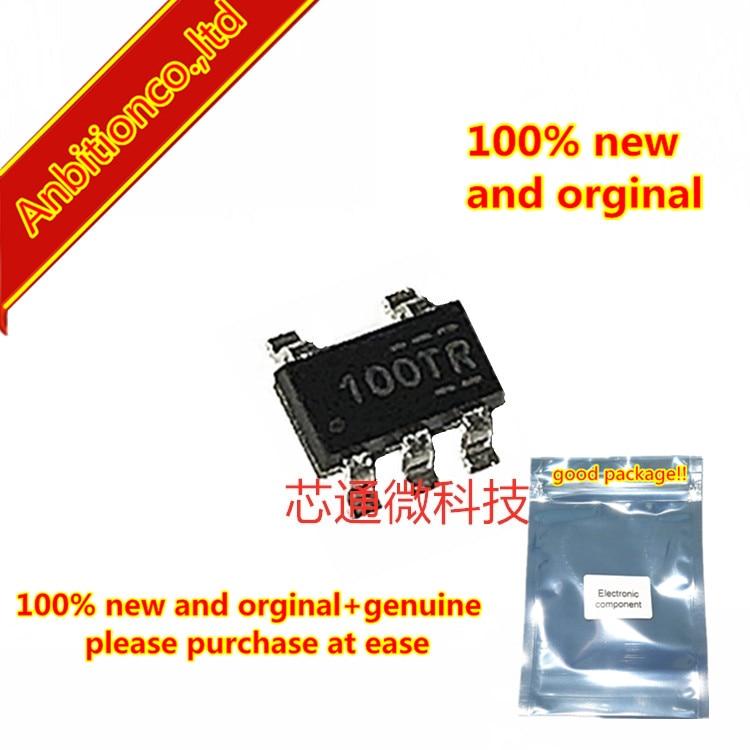 10pcs  100% New And Orginal FAN3100TSX Silk-screen 100T SOT23-5  In Stock