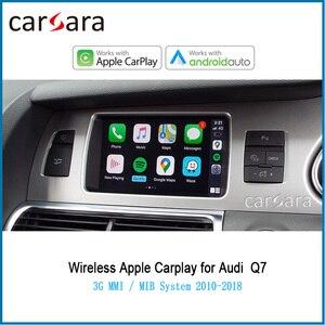 Автомобильный беспроводной видеоинтерфейс Carplay, для систем AU DI 3G MMI / MIB Q7 2010-2018, Android, автоматическое подключение и воспроизведение мультимед...