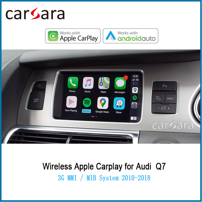 2020 New Car Wireless Carplay Video Interface for AU DI 3G MMI / MIB System Q7 2010-2018 Android Auto Plug and Play Multimedia(China)