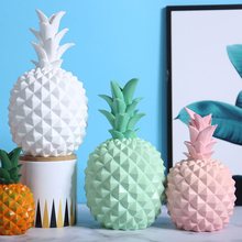 Nordic Decoration Home Fairy Garden Modern Statues Decorations For House Figurines Bedroom Decor Kawaii Sculpt Pineapple