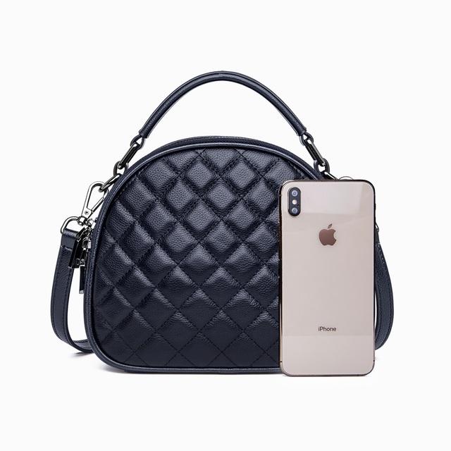 ZOOLER Luxury Brand Designer Genuine Leather bags for women 2020 Vintage Bag Women Shoulder bag 100% leather Black Messenger Bag