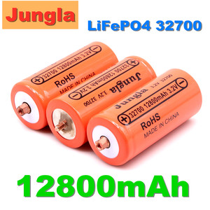 4PCS original 32700 12800mAh 3.2V lifepo4 Rechargeable Battery Professional Lithium Iron Phosphate Power Battery with screw