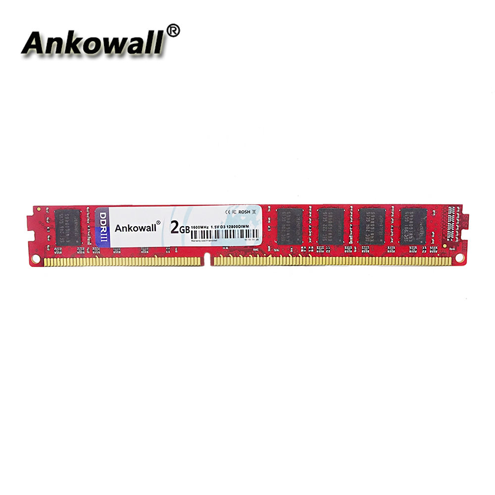 Ankowall RAM DDR3 4GB 8GB 2GB 1333 MHz 1600MHz 1866MHz Desktop Memory 240pin 1.5V sell 2GB/8GB New DIMM image