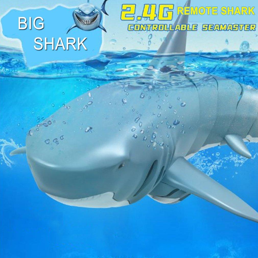 Barco de Control remoto RC, barco de carreras de simulación, broma de tiburón, divertidos juguetes de broma, fiesta de Halloween, juguetes de miedo para niños