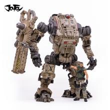 (2 قطعة/الوحدة) JOYTOY 1:18 الحرة MECHA روبوت/الجنود الشكل روبوت العسكرية السنة الجديدة هدية شحن مجاني