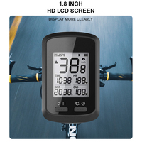 Bicycle Code Table Automatic 1.8inch LCD Screen Waterproof Computer Speedometer Wireless Outdoor Cycling Bike GPS Accessories